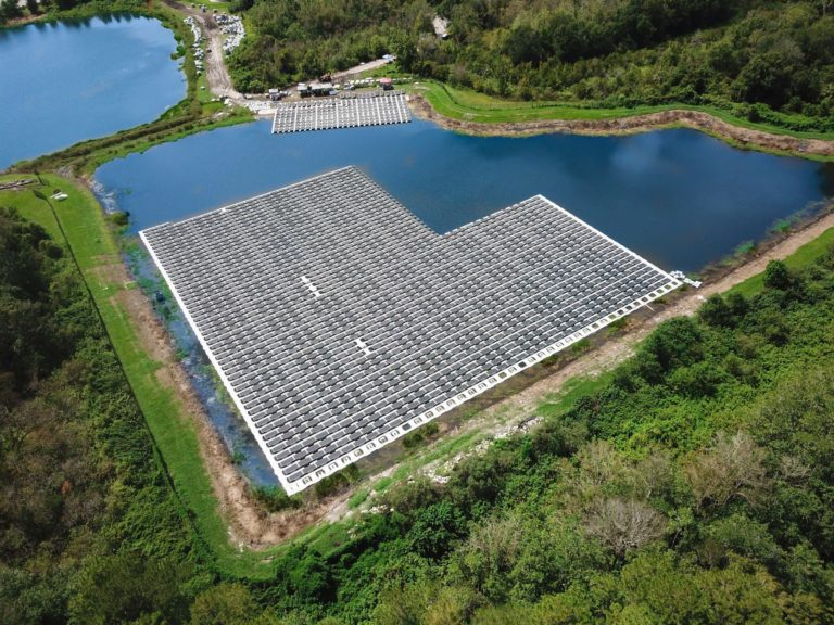 1.1 MW floating solar + storage power plant to be built at Fort Bragg