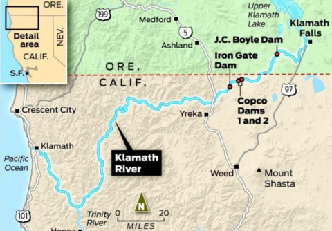 PacifiCorp announces joint agreement to advance Klamath River dam removal project