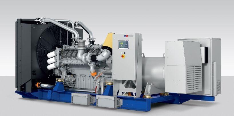 Rolls-Royce MTU 1200 gen-set